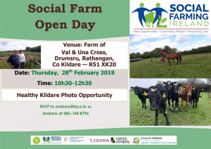 Flyer Open Day - Val and Una Cross 28 Feb 2019